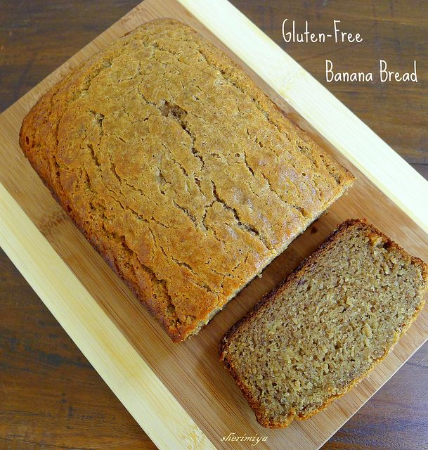Gluten-Free Banana Bread, homemade by sherimiya ♥, via Flickr   Read more about #food #allergy #diets here http://foodallergydiets.blogspot.com- for kida