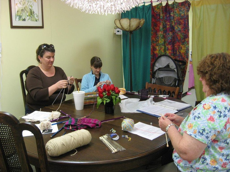 SUNNY SIDE YARNS  We even had two Jacobs show up at a Beginning Knitting class!