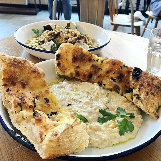 Jaffa Hummus And Golden Cauliflower Mintkitch A Beautiful New Restaurant Near Union Square Jaffa Hummus And Golden Cauliflower Food Israeli Food Hummus