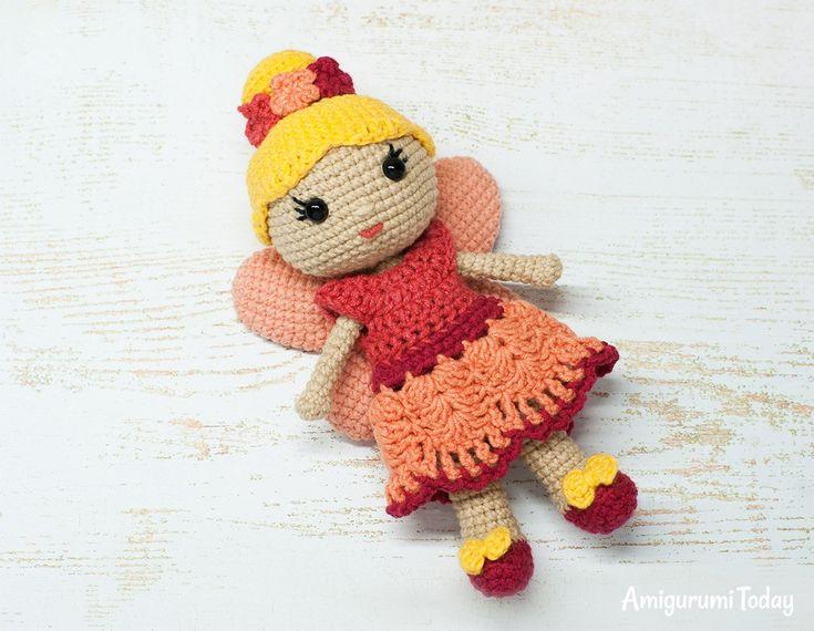 Amigurumi Fairy Doll crochet pattern by Amigurumi Today