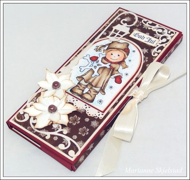 Mariannes papirverden.: Sjokoladekort - Bildmålarna