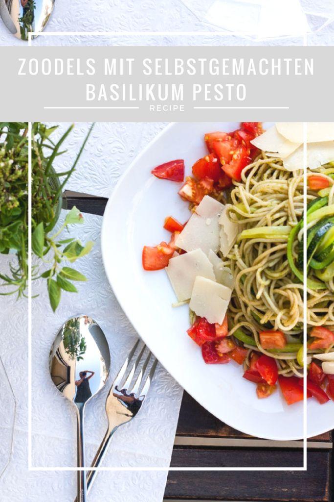 Zoodels, Rezept, Nudeln, Low carb, Pesto, basilikum, selbstegemacht, kochen, dinner. lunch, essen, Food, foodblogger,