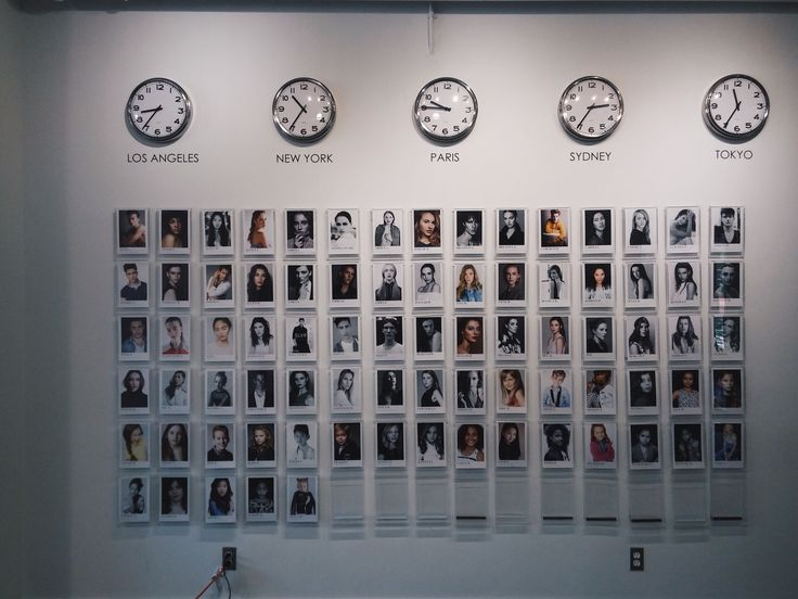 Summer Photo Diary: Modelling Agency Visit | Photo Wall With World Clocks | A Little Bit Of G