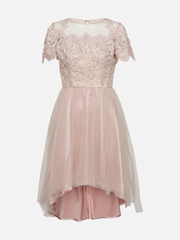 Chi Chi London Sukienka koktajlowa w kolorze różowy pudrowym