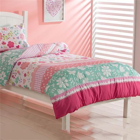 image for roomates secret garden comforter set single bed from kmart