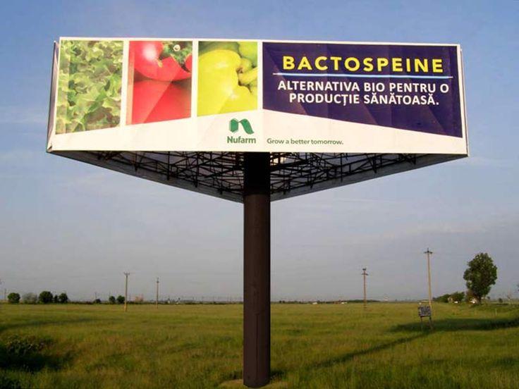Campanie outdoor Nufarm - agro