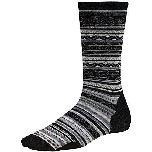 (スマートウール) SmartWool レディース インナー ソックス Ethno Graphic Crew Sock 並行輸入品  新品【取り寄せ商品のため、お届けまでに2週間前後かかります。】 カラー:Black カラー:ブラック