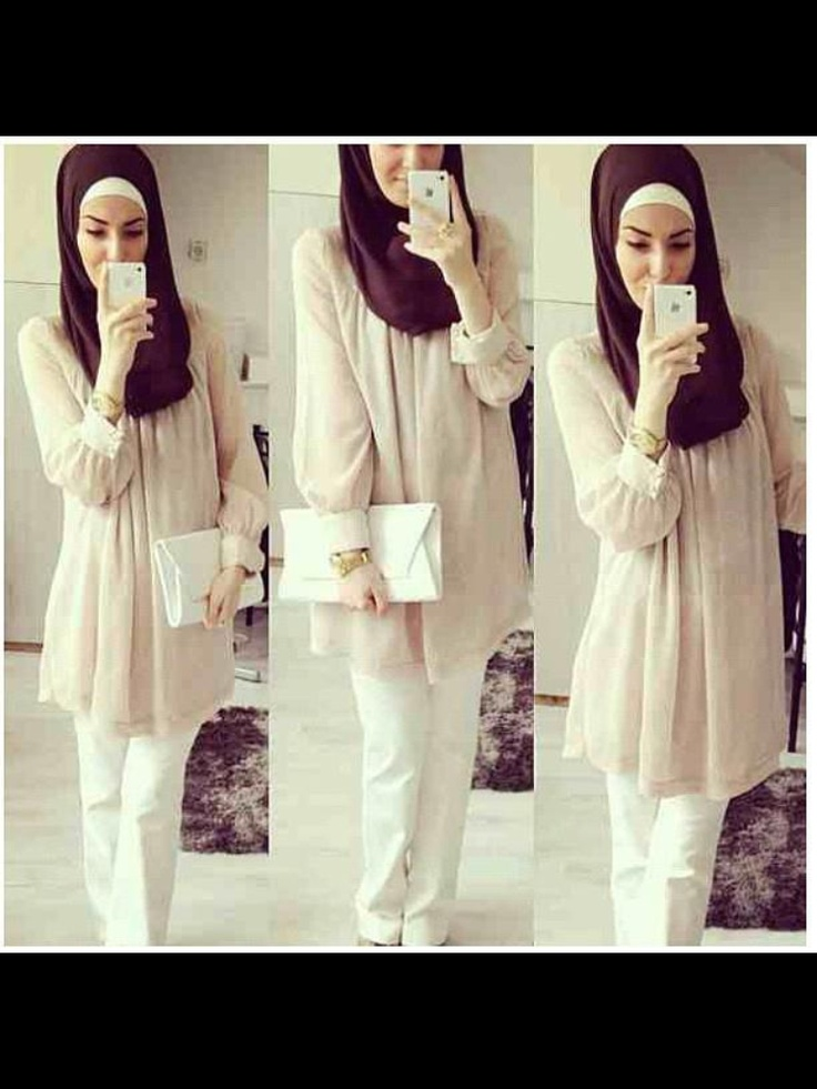 Gorgeous and hijab friendly outfit :)