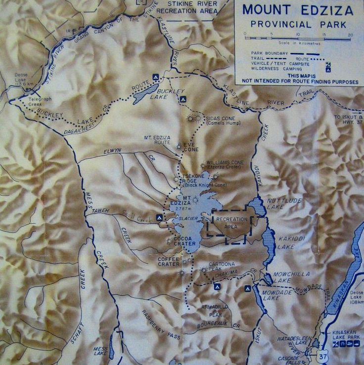 Mt Edziza Map - Eryne on ClubTread.com