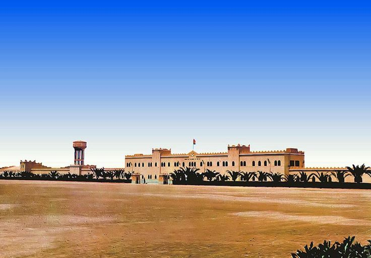 Antiguo Cuartel de Tiradores de Ifni.