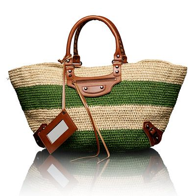 Balenciaga.  A perfect beach bag.