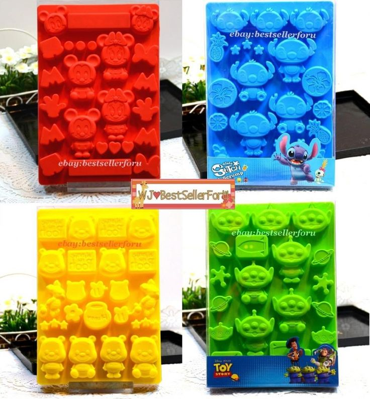 Details About Disney Silicone Ice Cube Tray Muffin Baking