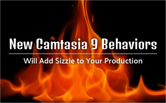 Behaviors are one of the most exciting new features in Camtasia 9. Knowing how to use these will help you serve up explosively exciting eLearning videos! In this blog, we'll walk you through the basics.