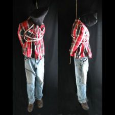 Lifesize 6' Hanging Man Scary Haunted House Halloween Life Size Prop