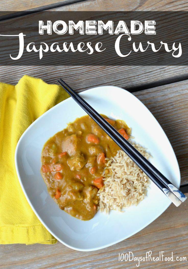Homemade Japanese Curry Recipe Homemade Japanese Curry Recipe Japanese Curry Curry Recipes Easy