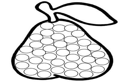 Fichas para pegar gomets | Manualidades de una maestra en prácticas
