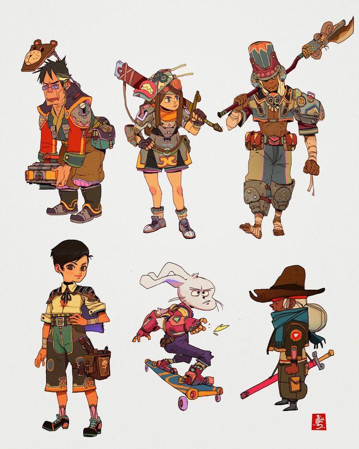 Character Design Lineup : Best karakter tasarımı sıralamak character design