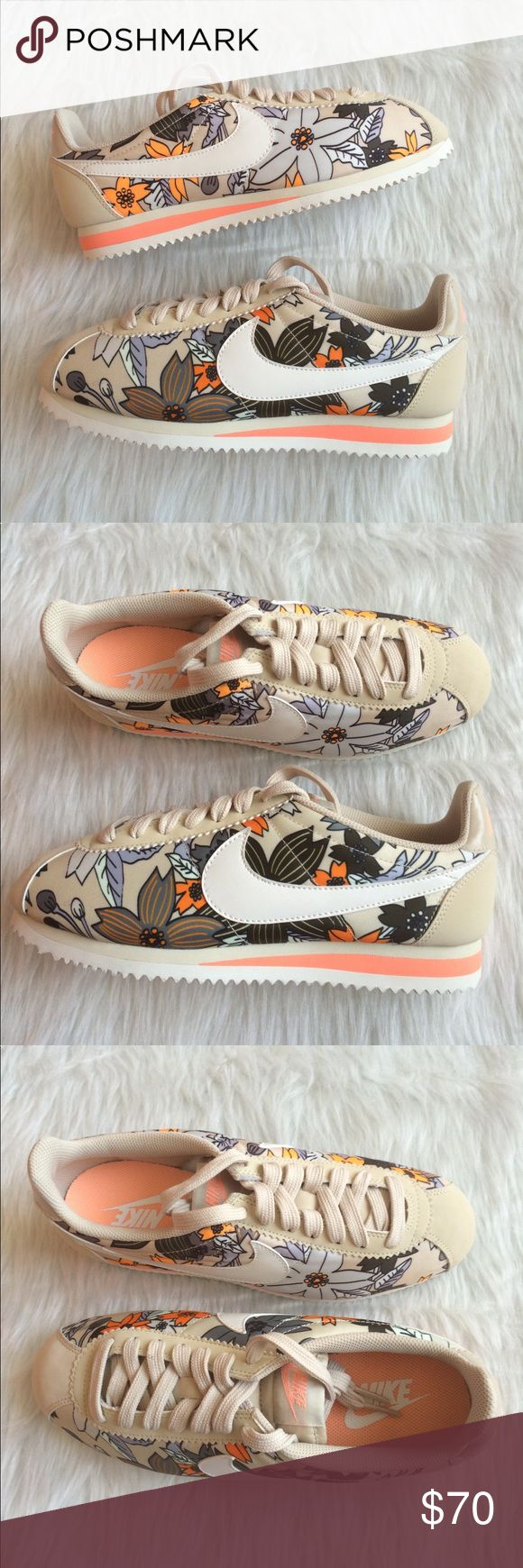 NIKE CORTEZ WOMENS FLORAL PREMIUM Brand new without box. Ships same day or very next. 100% authentic. Comment if you have any questions before purchasing. WOMENS. Nike Shoes Sneakers