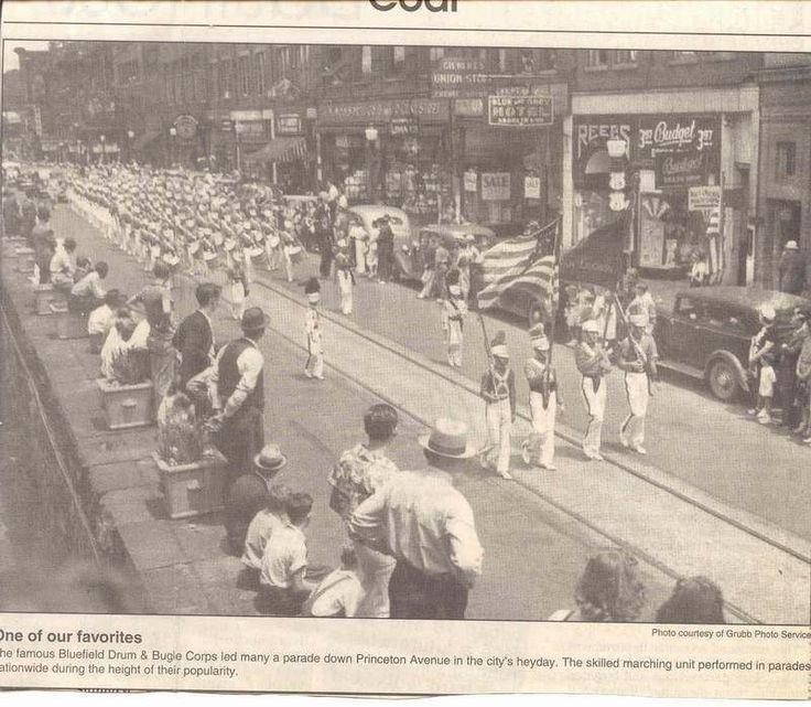 Parade on Princeton Avenue,  Bluefield, West Virginia