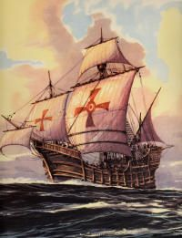 This is the ship of Christoffel Columbus called Santa Maria (1428)