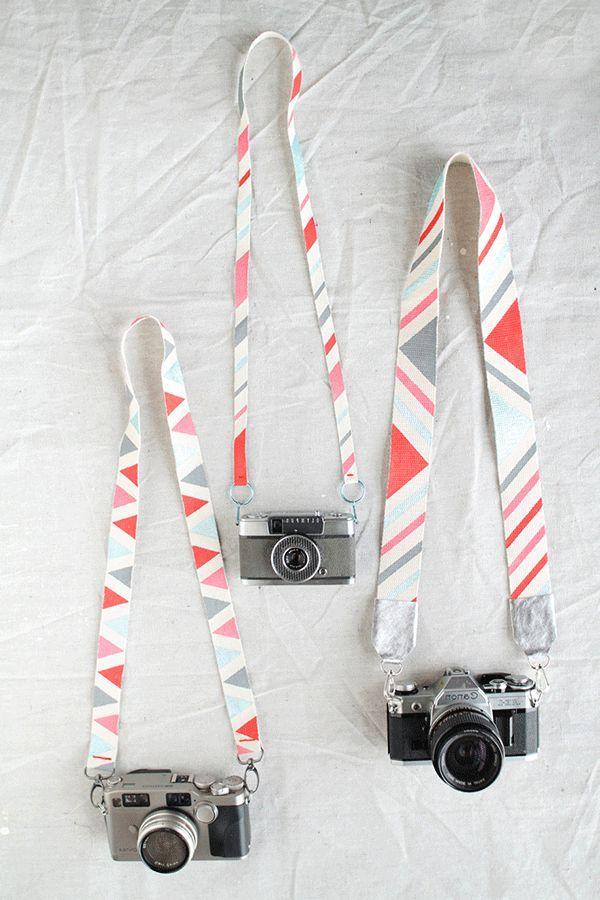 Tutorial: DIY this cute camera strap before the long weekend!