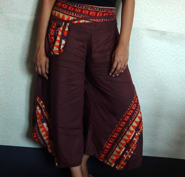 Palazzo Trousers, Women's Trousers, Culottes from IndianParadise by DaWanda.com