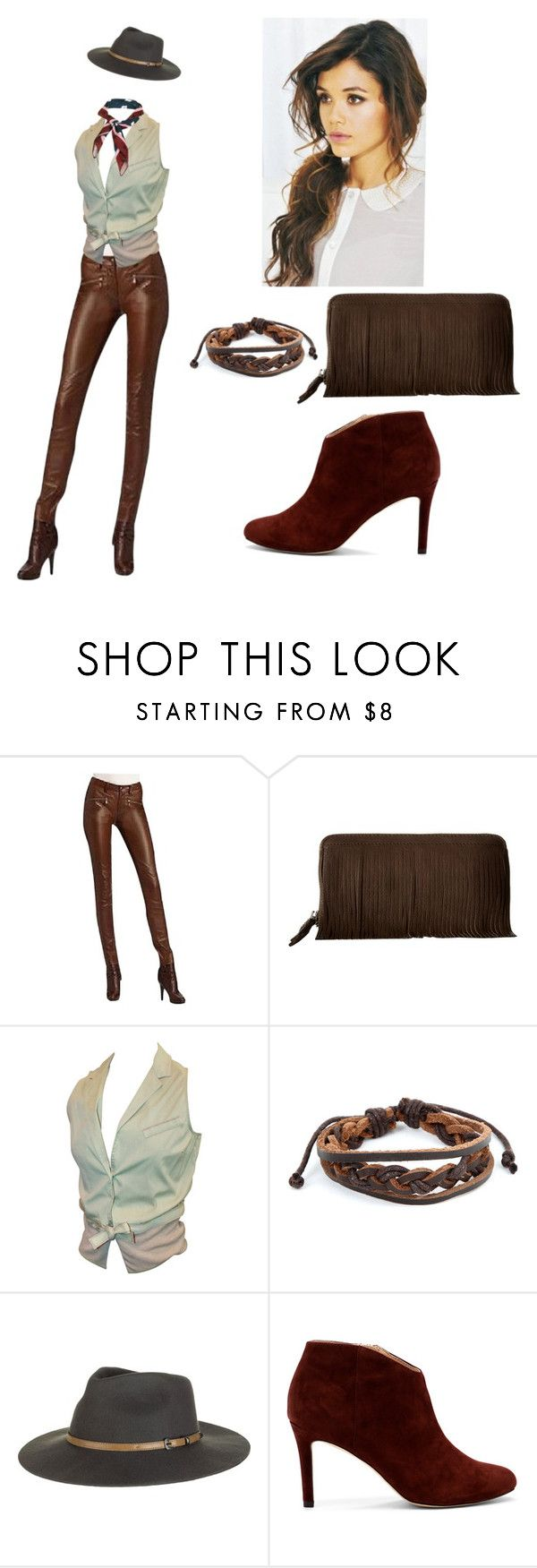"""Urban cowgirl"" by amory-eyre ❤ liked on Polyvore featuring Ralph Lauren, COWBOYSBELT, Brunello Cucinelli, West Coast Jewelry, Sole Society and Topshop"