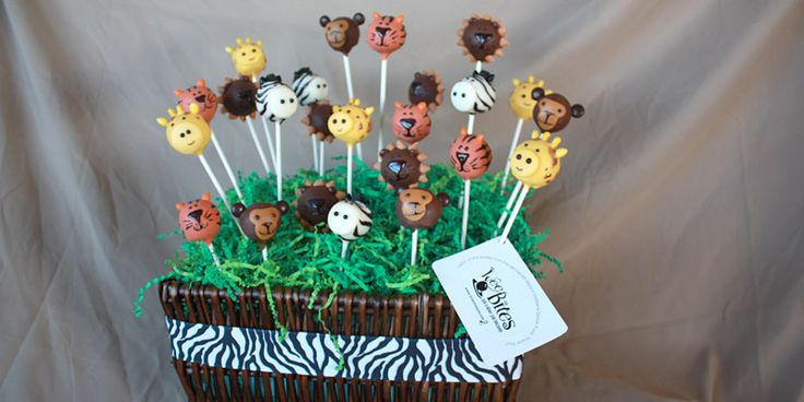 Animal Cake Pops.  Can't wait to make these.  So cute!!
