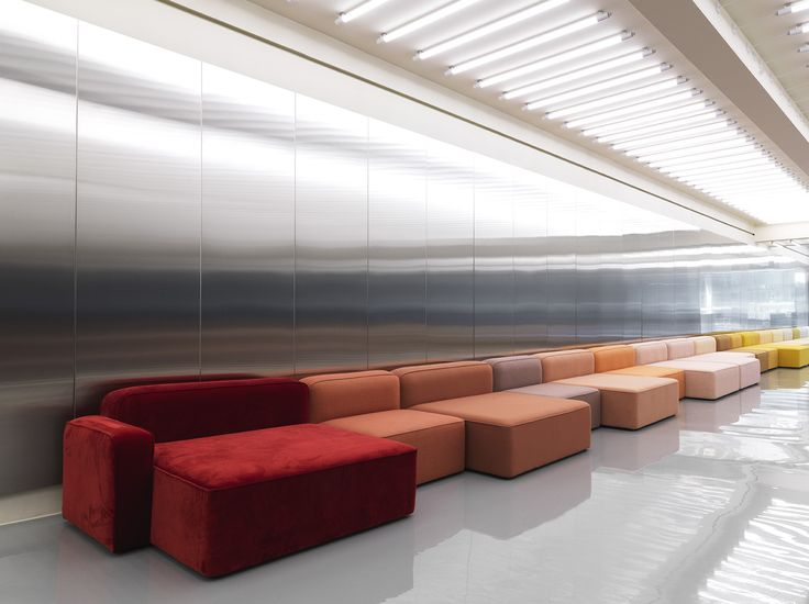Pick your favourite color from the Rope modular sofa by Normann Copenhagen