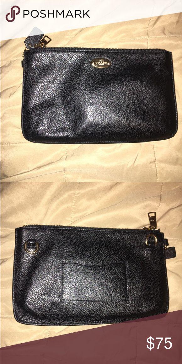 Wallet/purse A little black coach purse Coach Bags Mini Bags
