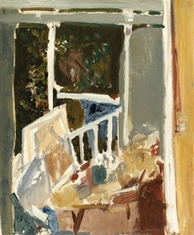 Interior of a Room By Liliane Klapisch ,1976