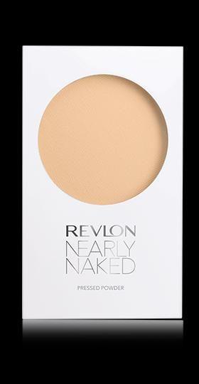 Revlon Nearly Naked™ Pressed Powder. NATURALLY FLAWLESS, LIGHTWEIGHT FEEL. My Shade: MEDIUM.