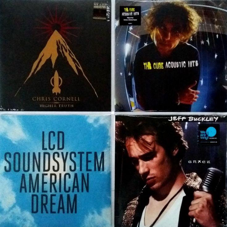 |i| Chris Cornell - Higher Truth (2xLP)  (M/NM) - 935 грн.   The Cure - Acoustic Hits (2xLP)  (M/NM) - 985 грн.   LCD Soundsystem - American Dream (2xLP)  (M/NM) - 895 грн.   Jeff Buckley - Grace   (M/NM) - 795 грн.   #AlternativeRock  #ElectroDiscoPunk  #theCure  #Grunge  #ChrisCornell  #LCDSoundsystem  #JeffBuckley  #newindiskultura #diskultura #TrueVinylRecordStore #kyiv #kiev #киев #київ #kyivshop #vinyl #винил #пластинки