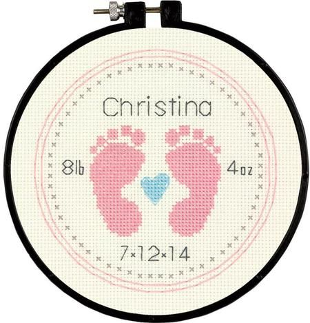 Baby Birth Announcements - Cross Stitch Patterns & Kits - 123Stitch.com