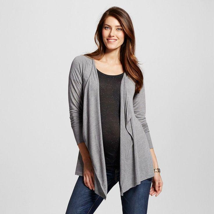 Maternity Open Layering Cardigan Heather Gray XL - Liz Lange for Target, Infant Girl's, Heather Grey