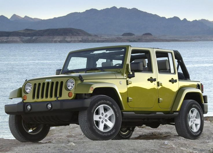 2007 Jeep Wrangler Unlimited! This is the Holy Grail of Jeeps! I love this and the color!