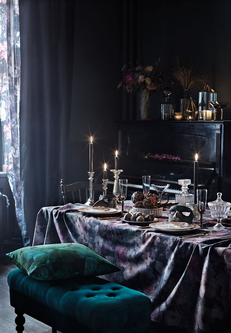 Gravity Home : Dark and moody decor for the winter months...
