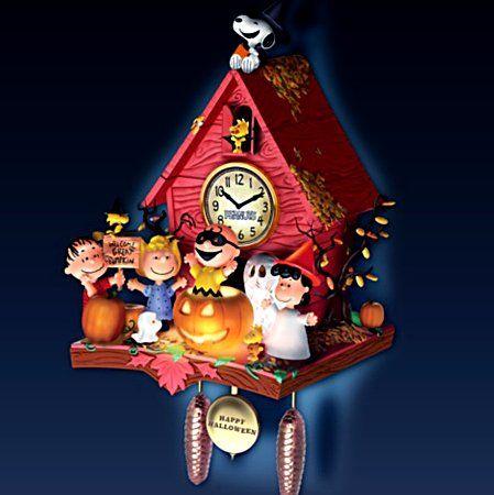 Peanuts Christmas Carol Clock