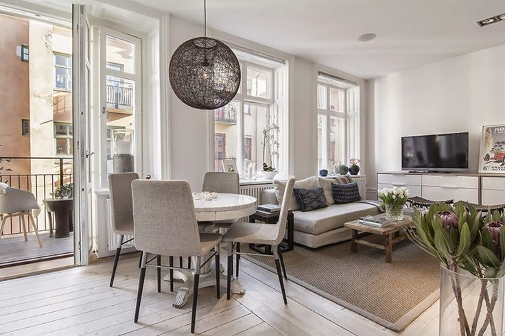 Decorating Small Apartments: Life in 34 Square Meters