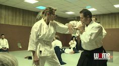 Aikido Nikyo 2 Christian Tissier - YouTube
