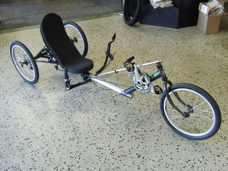 21 best green power electric tricycles images on pinterest for Recumbent bike with electric motor