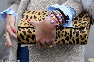 the leo with multicolored bracelets, Viviana Volpicella