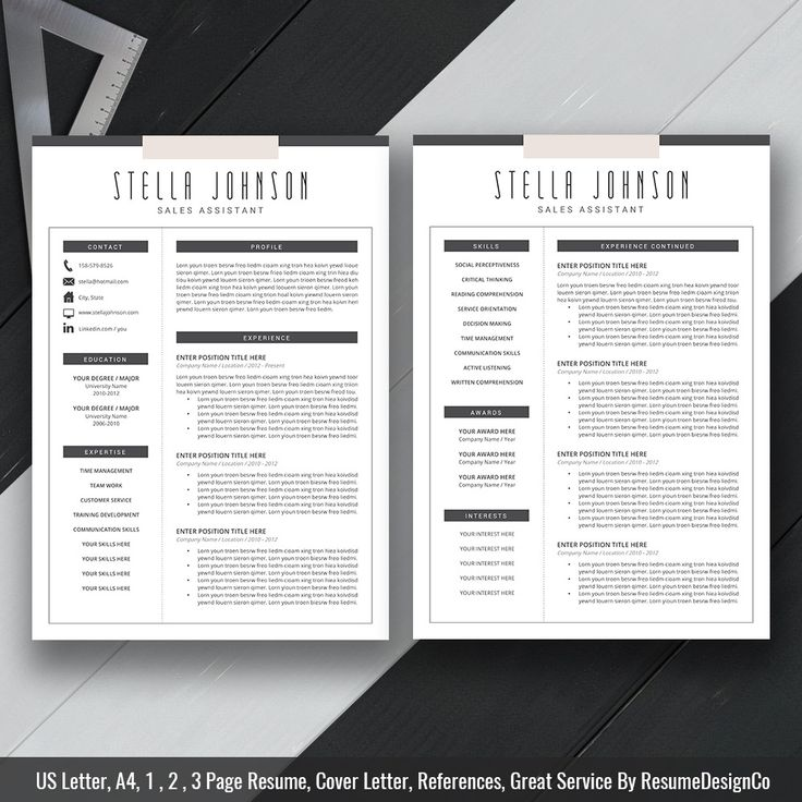 ResumeDesignCo provides high quality and professional resume templates / CV templates with matching cover letter, extra experience template, references template, fonts guide, icons guide and easy-to-follow user guide that will help you stand out from the crowd. - (100% Compatible) with Microsoft Office Word (PC & Mac). - (100% Editable) headers, colors, fonts and layout. - (100% Useful) detailed fonts guide, icon file and user guide. - (100% Excellent) customer service & user exp...
