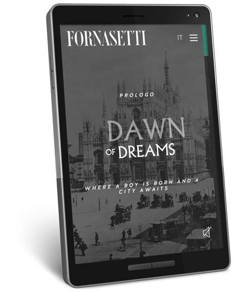 FWA mobile winner | Fornasetti | History #webdesign #website #webinspirations #responsive #ux #digital #aquest