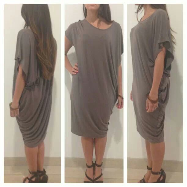 Metalicus Plaza Drape dress Summer Jan 2014