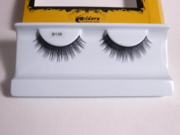 Ciglia finte effetto sexy natural B138 Eldora lashes