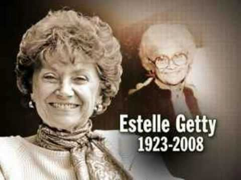 Remembering Estelle Getty, one year on.