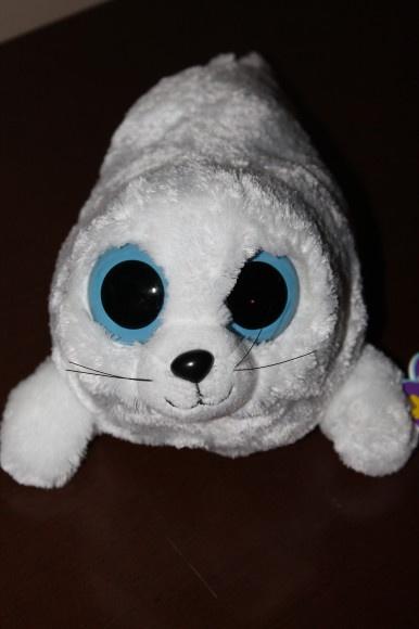 its a cute harp seal New Beanie Boos 'Iceberg' Seal