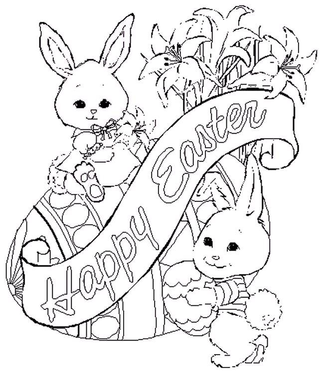12 best Easter Coloring Pages images on Pinterest | Easter coloring ...