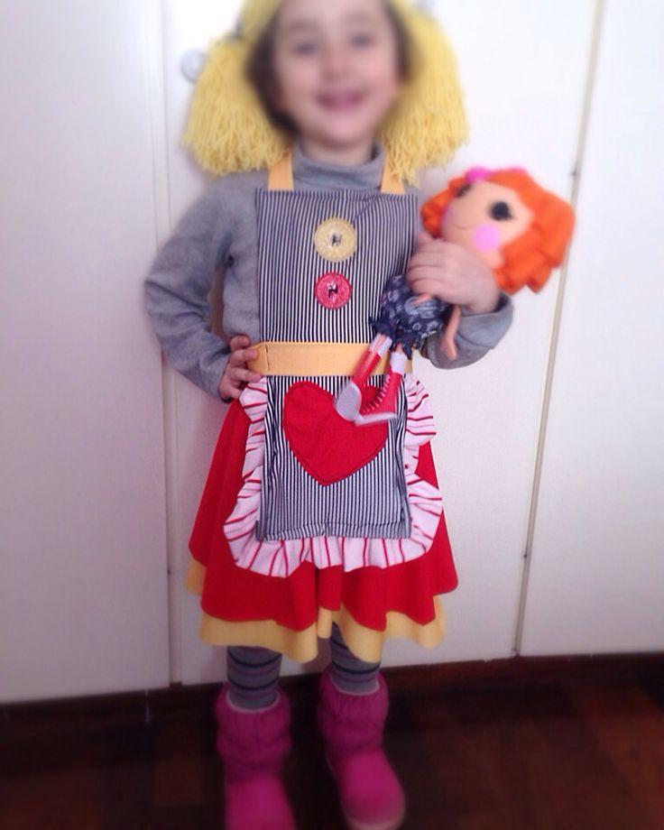My sweet lalaloopsy!!!! Very cute little girl!!!!!